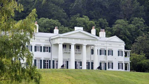 the mansion at Morven Park