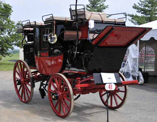 this recently restored Brewster coach won the award for having the most complete documentation