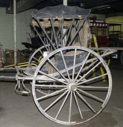 Carriages and conservation the carriage association of for Chaise carriage