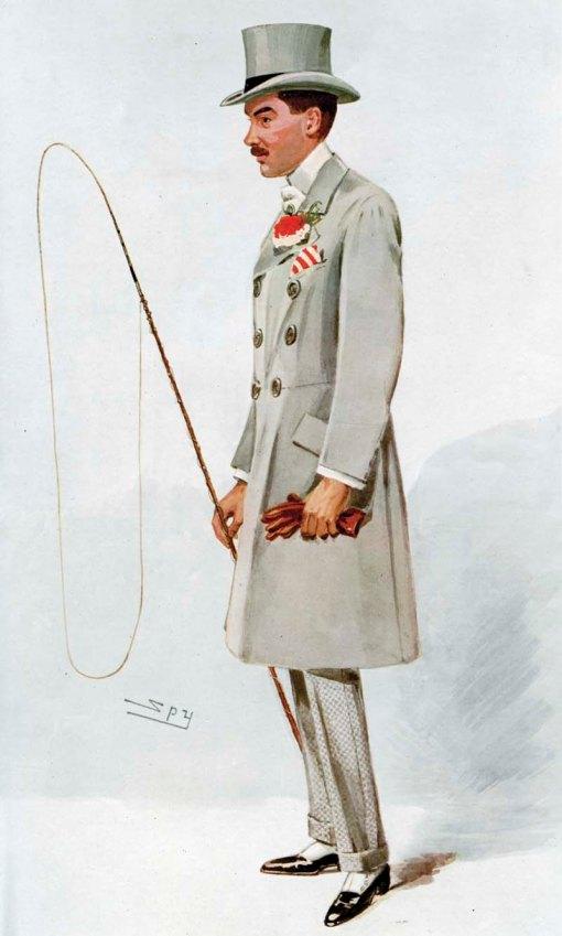 Alfred G. Vanderbilt, from Vanity Fair